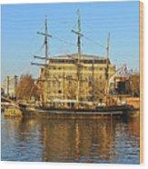 The Kaskelot In Bristol Dock Wood Print