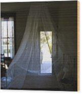 The Key West Bedroom Wood Print