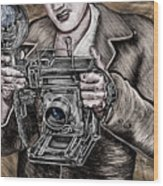 The King Of Cameras Wood Print