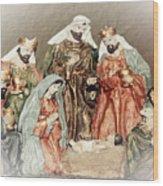 The King Of Kings Wood Print
