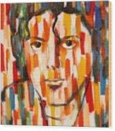 the king of pop Michael Jackson Wood Print