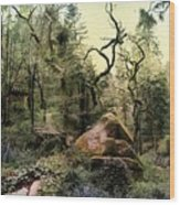 The King's Forest Wood Print