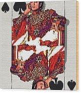 The Kings - Michael Jackson Wood Print