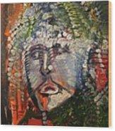 The King's Sorrow Wood Print
