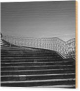 The Kings Steps Wood Print