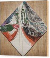 the Kiss 9 - tile Wood Print