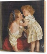 The Kiss  After John Morgan 1800 Wood Print