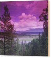 The Kootenai Wildlife Reserve   Wood Print