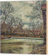 The Kymulga Mill Wood Print