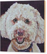 The Labradoodle Wood Print