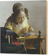 The Lacemaker Wood Print
