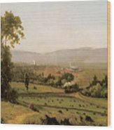 The Lackawanna Valley Wood Print
