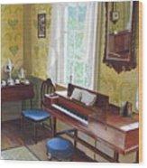 The Ladies Parlor Wood Print