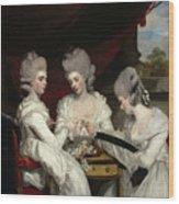 The Ladies Waldegrave Wood Print