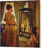 The Lady Of The House Wood Print