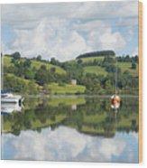 The Lake District Popular Beautiful Uk Holiday Destination Ullswater Cumbria North England Wood Print