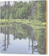 The Lake Tully Wood Print