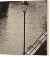 The Lamp Wood Print