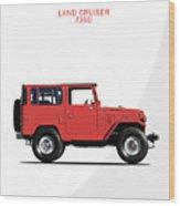 The Land Cruiser Fj40 Wood Print