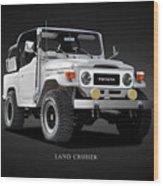 The Land Cruiser Wood Print