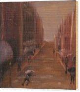 The Lane  Wood Print