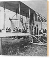 The Langley Airplane Wood Print