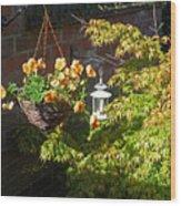 The Lantern Wood Print