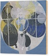 The Large Figure Paintings  No  5 Group 3  Hilma Af Klint 1907 Wood Print