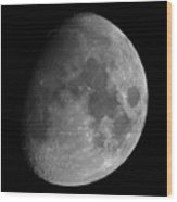 The Largest Moon Photograph Ever Taken From Earth Wood Print