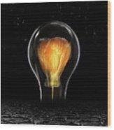The Last Bright Light Wood Print
