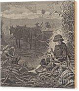 The Last Days Of Harvest Wood Print