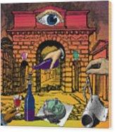 The Last Days Of Herculaneum Wood Print