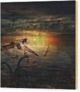 The Last Fairy Tale Wood Print