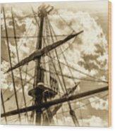 The Last Farewell - II Wood Print