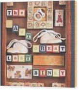 The Last Great Lost Binky Wood Print