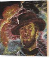 The Last Gunslinger Wood Print