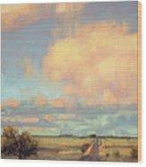 The Last Mile Wood Print