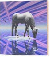 The Last Of The Unicorns 2 Wood Print