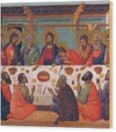 The Last Supper 1311 Wood Print