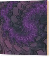 The Lavender Forest 4 Wood Print