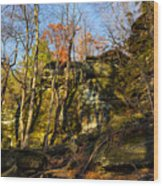 The Ledges  Wood Print
