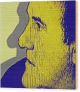 The Legendary Gerard Depardieu Wood Print