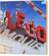 The Lego Movie Wood Print