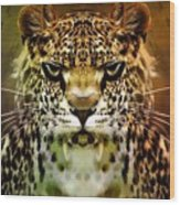 The Leopard Of The Temple  Wood Print