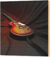 The Les Paul Wood Print