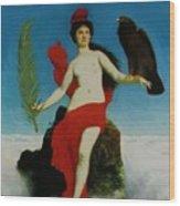 The Liberty 1891 Wood Print