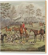 The Life Of A Sportsman Wood Print