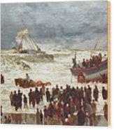 The Lifeboat Wood Print