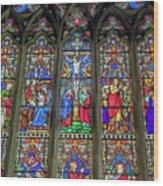 The Light Of Faith Wood Print