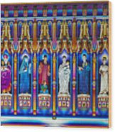 The Light Of The Spirit Westminster Abbey Wood Print
